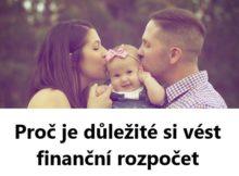Proč je důležité si vést finanční rozpočet